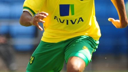 Korey Smith has signed a two-year deal with League One Oldham after his release from Norwich. Picture by Alex...
