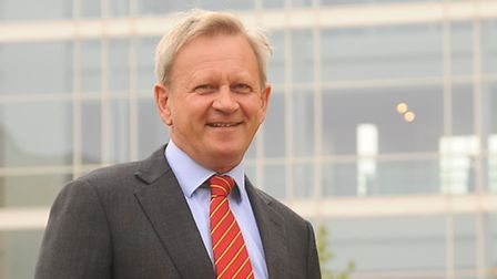 John Fry, the new chairman of the Norfolk and Norwich University Hospital. Picture: Denise Bradley