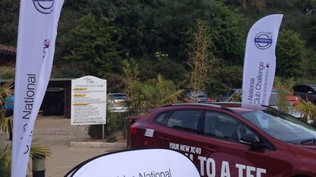 Norwich Volvo dealership Holden Motors is backing local golf club competitions to raise funds for He