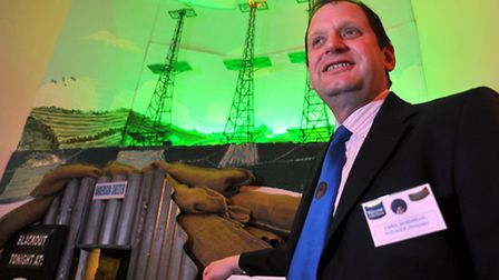 The re-opening of the Radar Museum at Neatishead.; new manager Chris Morshead; photo Adrian Judd