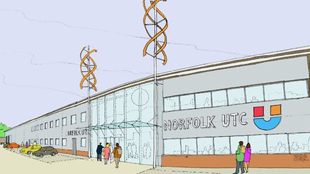 This is what the Norfolk University Technical College building could look like