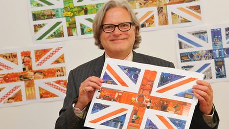 Norwich businessman Nick Farrow who is the creative mind behind a four-day festival at Buckingham Pa