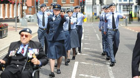 Armed Forces Day Parade, Dereham. Picture: Ian Burt