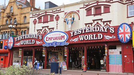 Yesterdays World on Marine Parade in Great Yarmouth which is up for sale.Picture: James Bass