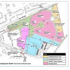 The draft development brief for the 18-hectare site at Heath Farm and Hempstead Road. Picture: SUBMITTED