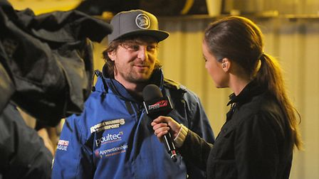Mads Korneliussen has done his talking behind the camera of late. Picture: Ian Burt.