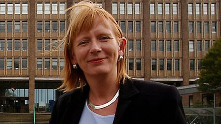 Lisa Christensen who has just been appointed director of children's services at Norfolk County Hall.