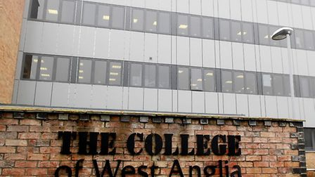 Outstanding Ofsted report for The College of West Anglia. Pictured: The College of West Anglia, King