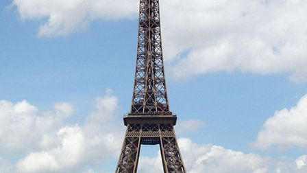 The Eiffel Tower in Paris. Norfolk County Council could soon be employing staff in France and we had