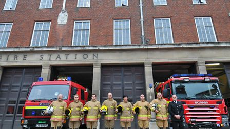 Final day at Bethel Street Fire Station and the end of an era for the city centre station as the fir