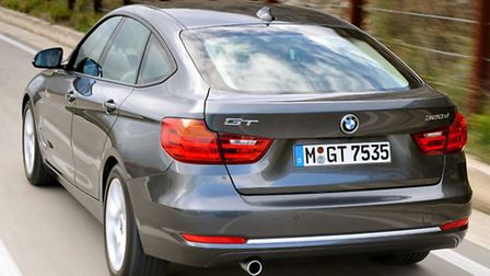 BMW 3 Series Gran Turismo has a lot more space behind the B-pillar.