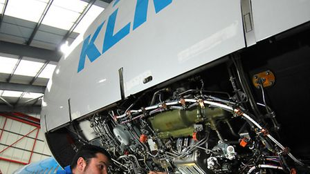 KLM Engineering is hoping to secure permission to recycle planes at Norwich International Airport.