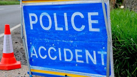 The A47 has been partially closed after an HGV overturned near King's Lynn.