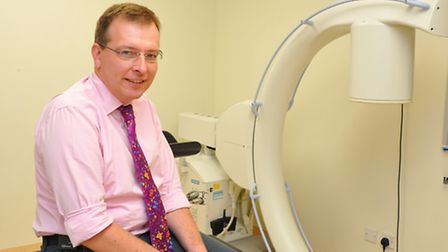 Tom Roques, Norfolk and Norwich University Hospital consultant oncologist.PHOTO BY SIMON FINLAY