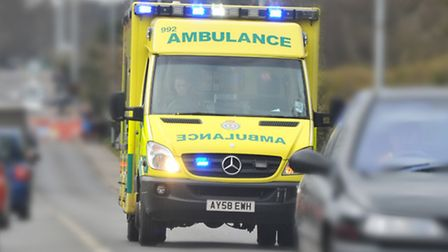 East of England Ambulance Trust ambulances work out out of the Norwich office in Hellesdon.PHOTO BY SIMON FINLAY