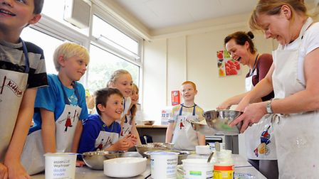 The Norfolk Food Discovery Project has been running for the past year and teaches children where foo