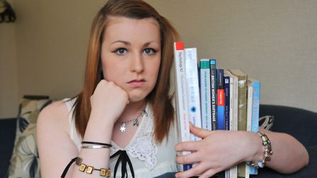Molly Cuthbert is worried she may miss her grades to do psychology at UEA because of college's respo