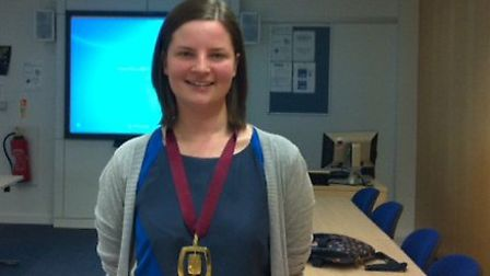Final year medical student Emily Ward has won the annual Jenny Lind Medal and a prize of £500.