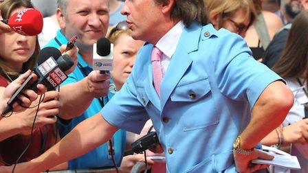 The Alan Partridge film premier at the Hollywood Cinema where fans and the press turned out in force to welcome the star...