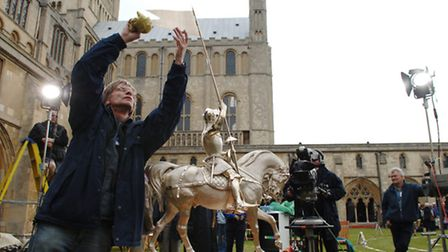The Antiques Roadshow filming from Norwich Cathedral in 2005. Photo: Nick Butcher