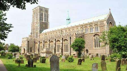 The bells rang out at the Church of St Edmund in Southwold to celebrate the birth of the royal baby.