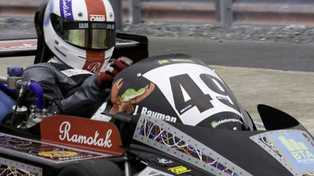 Norwich's Josh Rayman is ready to take on Snetterton in his superkart this weekend.