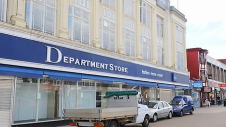 The former Co-op department store in Great Yarmouth town centre. The building has stood empty for so