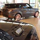 The new Range Rover Sport at the launch at Hunters Land Rover Norwich.
