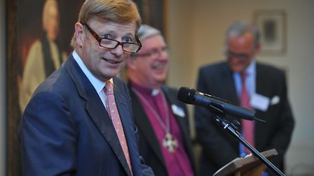 Norfolk's great and good gathered for Lord Nash's speech in praise of academy schools. Photo: Bill S
