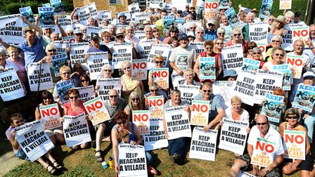 The Eastern Daily Press is backing the Keep Heacham a Village Campaign. Picture: Ian Burt