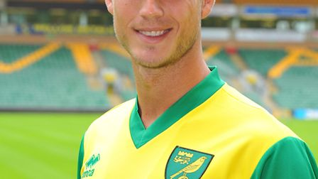 Norwich City's club-record signing Ricky van Wolfswinkel is poised for his first action for the Cana