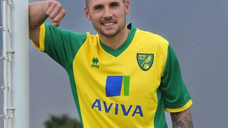 Gary Hooper's father has backed his son to become a fans' favourite at Carrow Road. Picture: Bill Sm