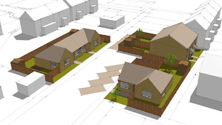 Great Yarmouth Borough Council is set to build its first homes for 20 years, five of which will be a