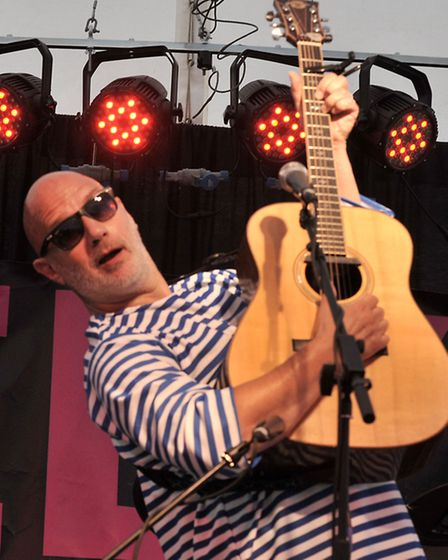 Ely Folk Festival. Keith Donnelly. Picture: Steve Williams.