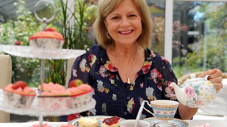 Anne Gillion from Great Moulton has started a mobile pop up vintage tea party service called More Te