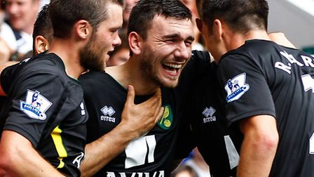 Norwich midfielder Robert Snodgrass felt San Jose offered the perfect step up in intensity. Picture