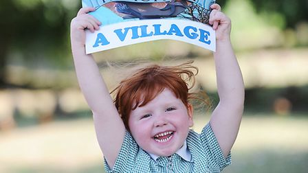The Eastern Daily Press is backing the Keep Heacham a Village Campaign. Pictured is Olivia Murtagh (