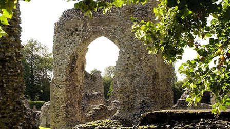 Some remains of the tombs were left at Thetford Priory.