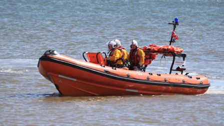Happisburgh's Douglas Paley lifeboat. Picture: submitted