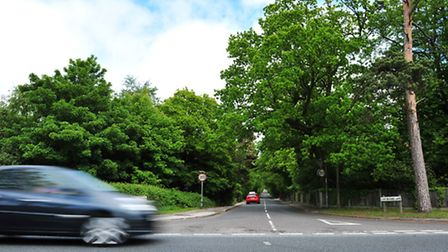 Generic views of the area that the new Lowestoft Northern Spine road will take.Junction of Corton Lo