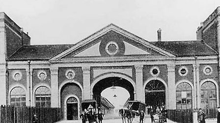 Norwich City Station, from approximately 1905. IMAGE COURTESY OF NORFOLK COUNTY COUNCIL.