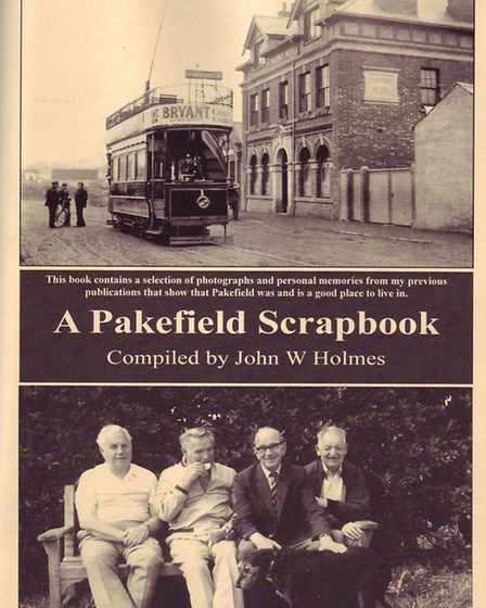 NEW PUBLICATION: A Pakefield Scrapbook, by John Holmes. Picture: SUPPLIED.