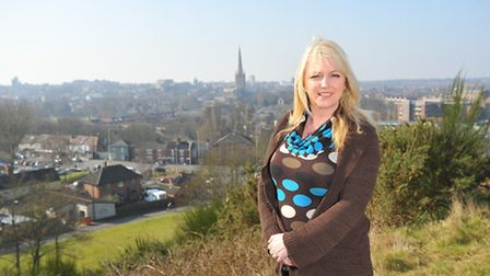 Dawn Hopkins, landlady at the Rose in Queens Road and the Ketts Tavern in Ketts Hill, both in Norwic