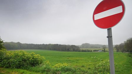 The land on Roughton Road, Cromer which is proposed for development.PHOTO: ANTONY KELLY