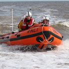 The Spirit of Berkhamsted was launched this morning. Pic: RNLI