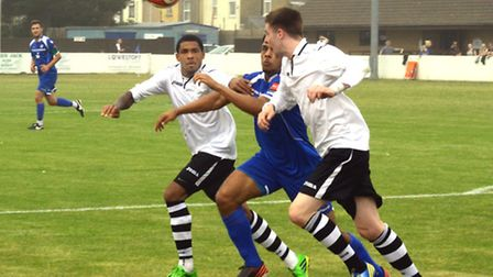 Dan Jacob, left, is an injury doubt for Lynn today. Picture: MICK HOWES.
