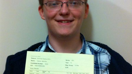 Top Springwood student Darion Mayes achieved 4A* grades at A-level.