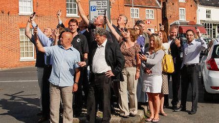 Business owners in Reepham have expressed their disappointment at the news that the Governments Mobi
