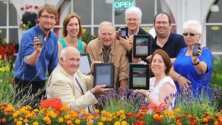 Launch of new app by Great Yarmouth Tourism to help holidaymakers discover the borough.Picture: Jame