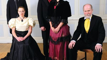 A Doll's House cast for the 2013 Hostry Festival.